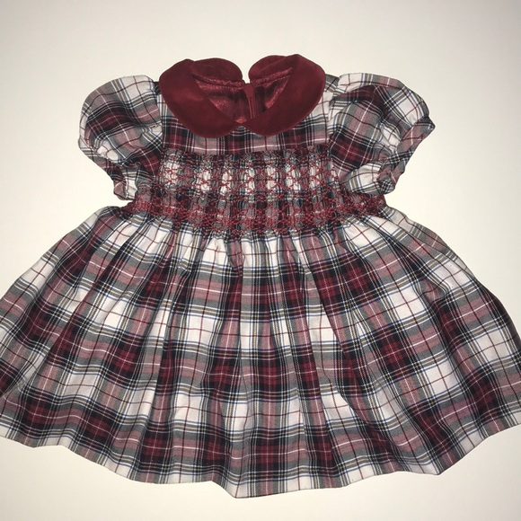 plaid girls dress from the children's place